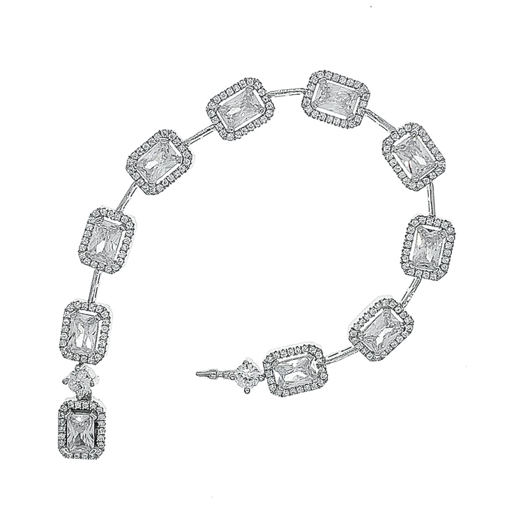 Armband Sparkling Diamonds Silver