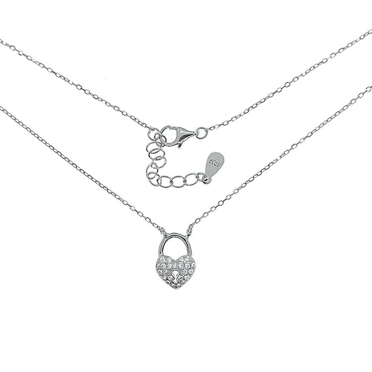 vackert halsband i silver från Catwalk Jewellery