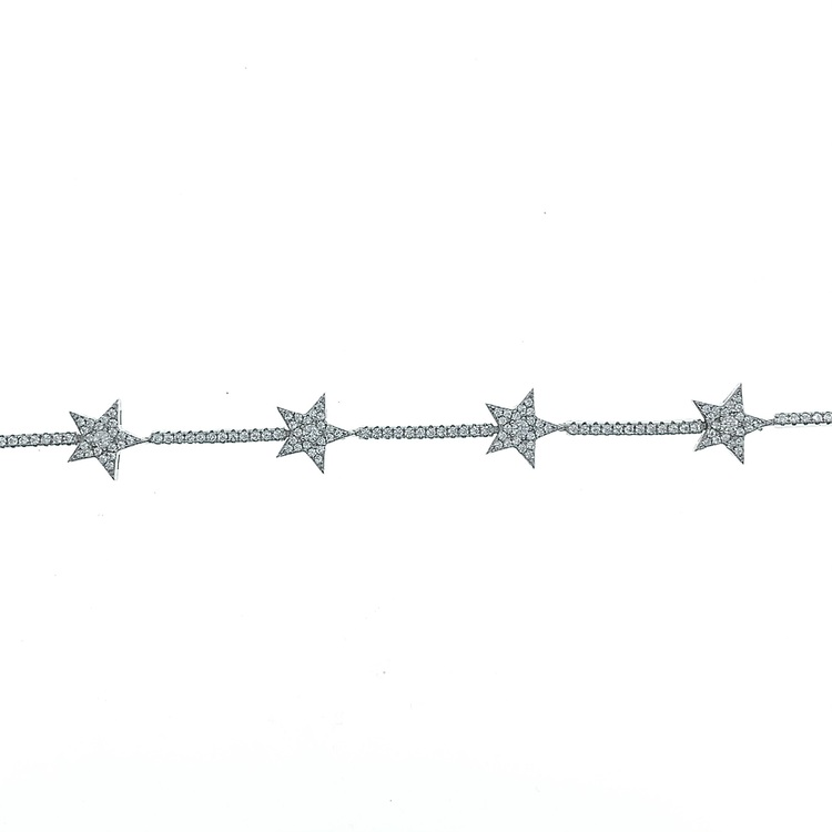 Armband Sparkling Star Silver
