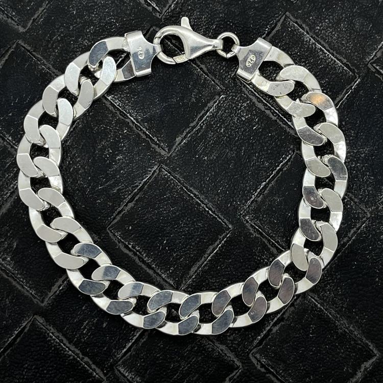 Pansararmband i 925 silver - 7,8 mm