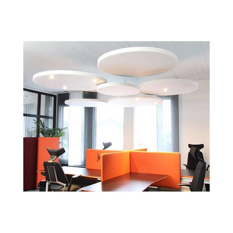 Ljudabsorbent till hem & kontor - Sound Off Cirkel till tak