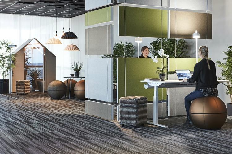 Ljudabsorbent till hem & kontor - Effekt EcoSund takabsorbent. Ett effektivt sätt att förbättra akustiken i ett rum utan att behöva ändra på befintliga installationer.