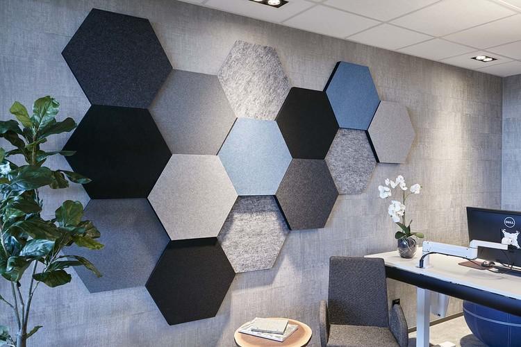 Ljudabsorbent till hem & kontor - Honey EcoSund väggabsorbent