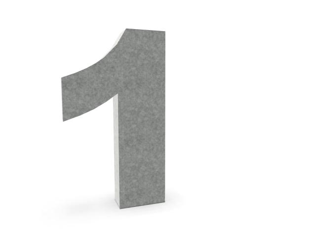Ljudabsorberande bokstäver hem & kontor. Ljudabsorberande bokstäver, siffror och tecken för upphängning på vägg. Ljudabsorbenten bestående av återvunnet material.