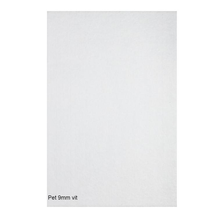 Självhäftande ljudisolering och ljudabsorbent till kontor och hem. SilentSwede Pet vit. Miljövänlig och giftfri ljuddämpning till kontor och hem.