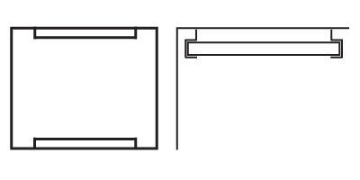 Ljudabsorbent till hem & kontor - Palett Tak