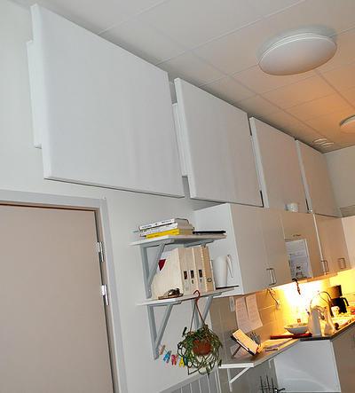 Ljudabsorbent till hem & kontor - Palett Bas Vägg
