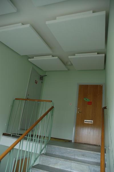 Ljudabsorbent till hem & kontor - Palett Bas Tak