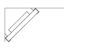 Ljudabsorbent till hem & kontor - Palett Bas Diagonal