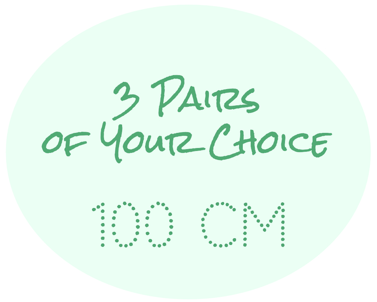 3 Pairs of Your Choice