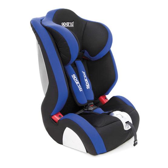 Barnstol Sparco F1000K - Blå