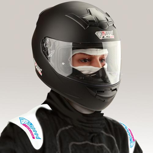 LS2 Speed Integralhjälm - Matt Svart