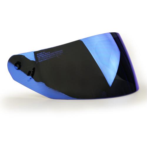 LS2 ROOKIE visir - Iridium blå