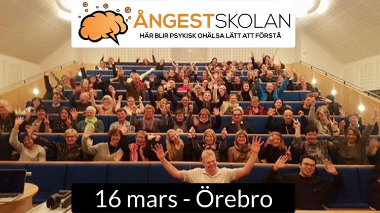 16/3 ÖREBRO - Öppen föreläsning om social fobi