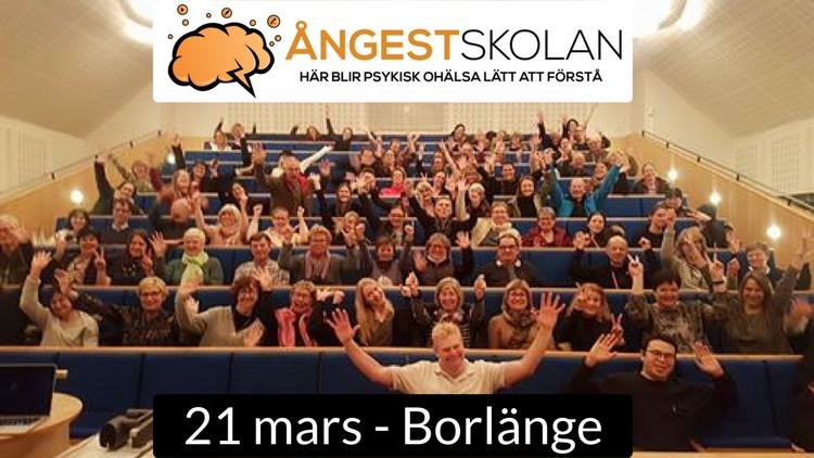 21/3 BORLÄNGE - Öppen föreläsning om social fobi