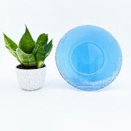 Arcoroc blå glastallrik