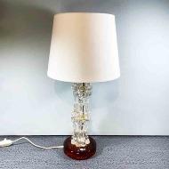 bordslampa glas orrefors