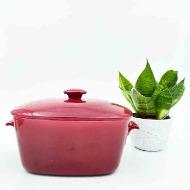 vinröd karott keramik rörstrand