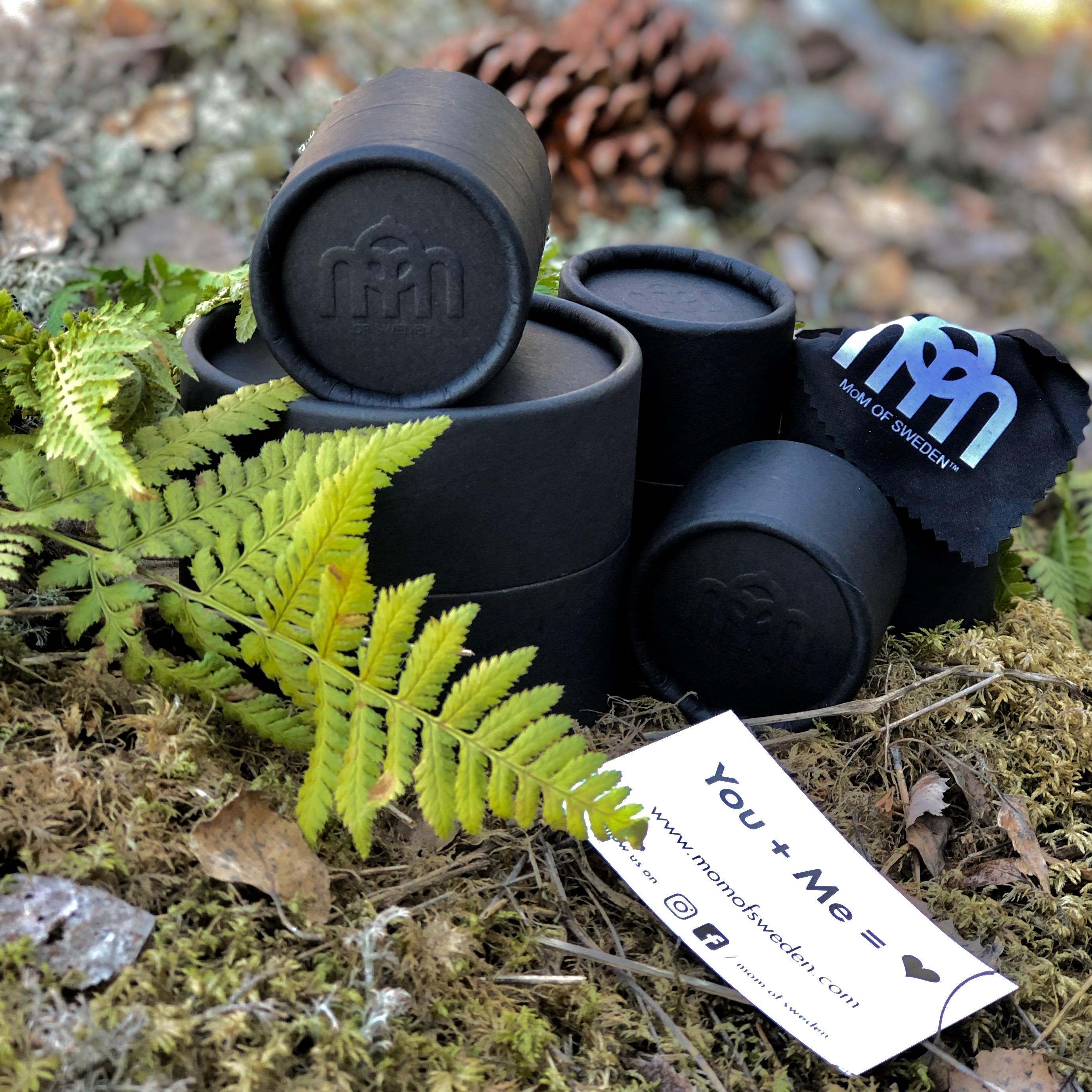 Miljövänliga smyckesförpackningar. Sustainable jewellery boxes.