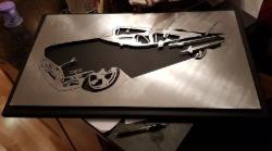 Biltavla av en Impala.