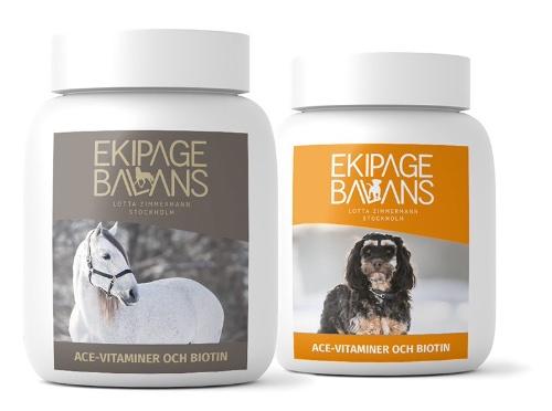 Vitamintillskott för hund och häst
