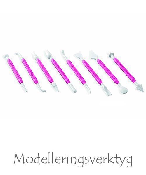 modelleringsverktyg till tårtdekorationer