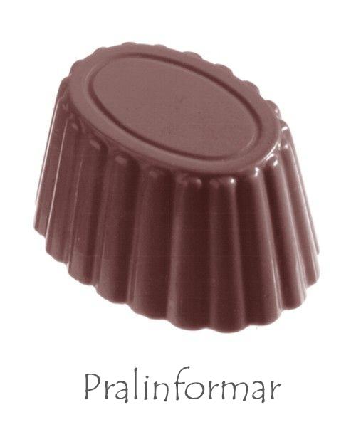 proffsiga pralinformar i polykarbonat och silikon