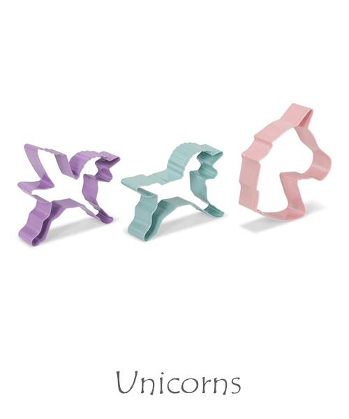 Baka till kalaset med enhörningar och unicorns