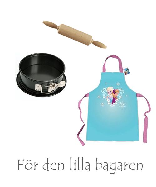 köksredskap och förkläden för barn