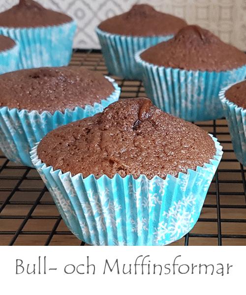 Bullformar och Muffinsformar