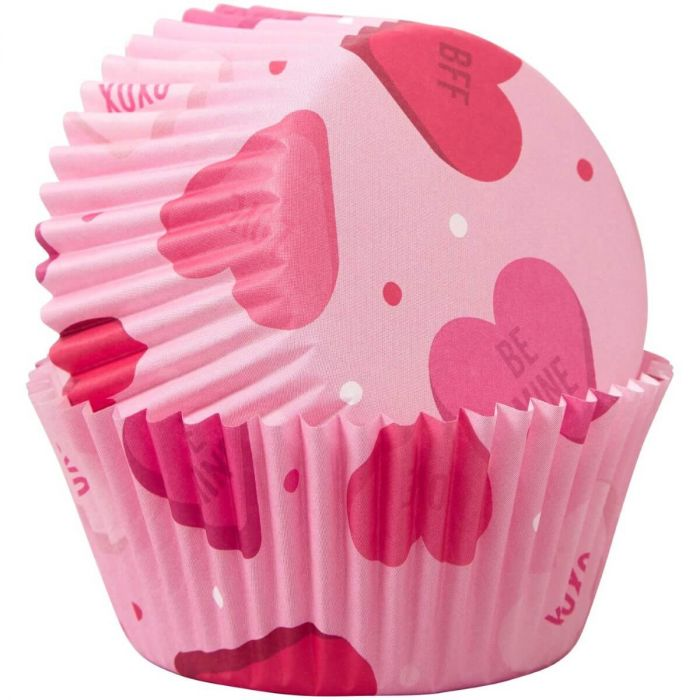 Muffinsformar Rosa med Hjärtan