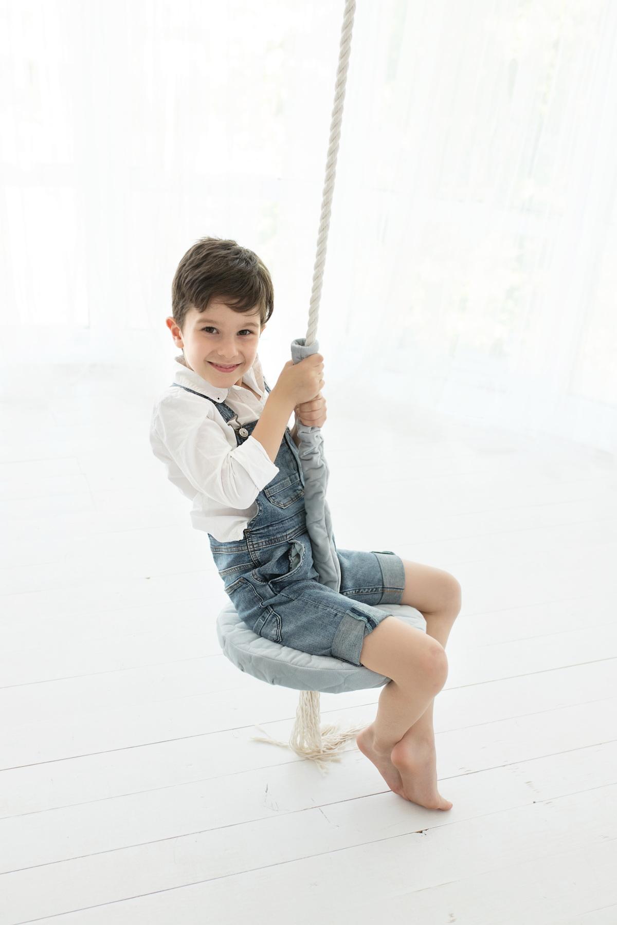 Tallriksgunga och rund gunga för barn från Only Handmade