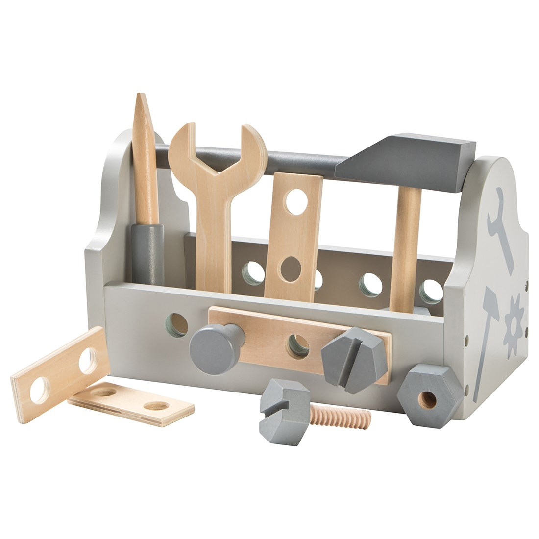 Leksaker 2 år - verktygslåda