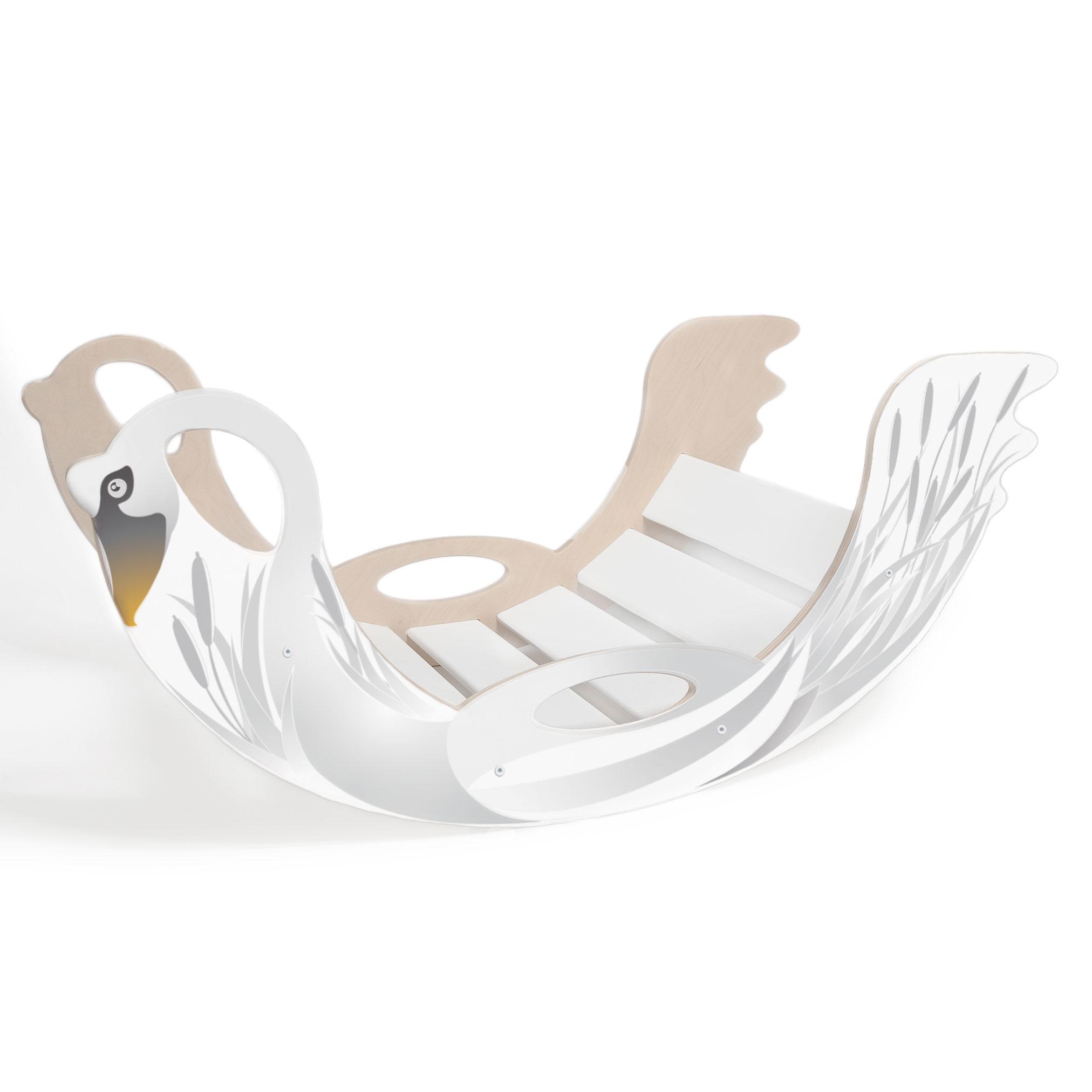 Trägunga för barn i vit- originell och unik doppresent