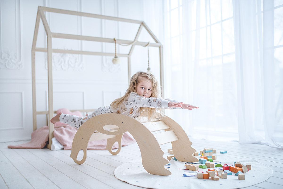Trägunga från Only Handmade - en leksak som utvecklar motorik