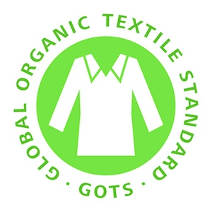 GOTS --- The Global Organic Textile Standard (GOTS) is the worldwide leading textile processing standard for organic fibres, including ecological and social criteria, backed up by independent certification of the entire textile supply chain. You can read more at http://www.global-standard.org You can't spell ecological without logical!
