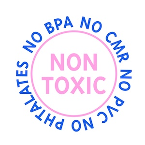 Non-Toxic --- like all that wasn't enough we have decided to take it a bit further and make sure that all materials being used are totally safe and non toxic. We have tried to use materials from mother earth that are processed as little as possible. Where we haven't been able to find a natural fiber (for example in some of the wigs) we have made sure that the material is tested for harmful substances and residues.  When in doubt we will leave it out!