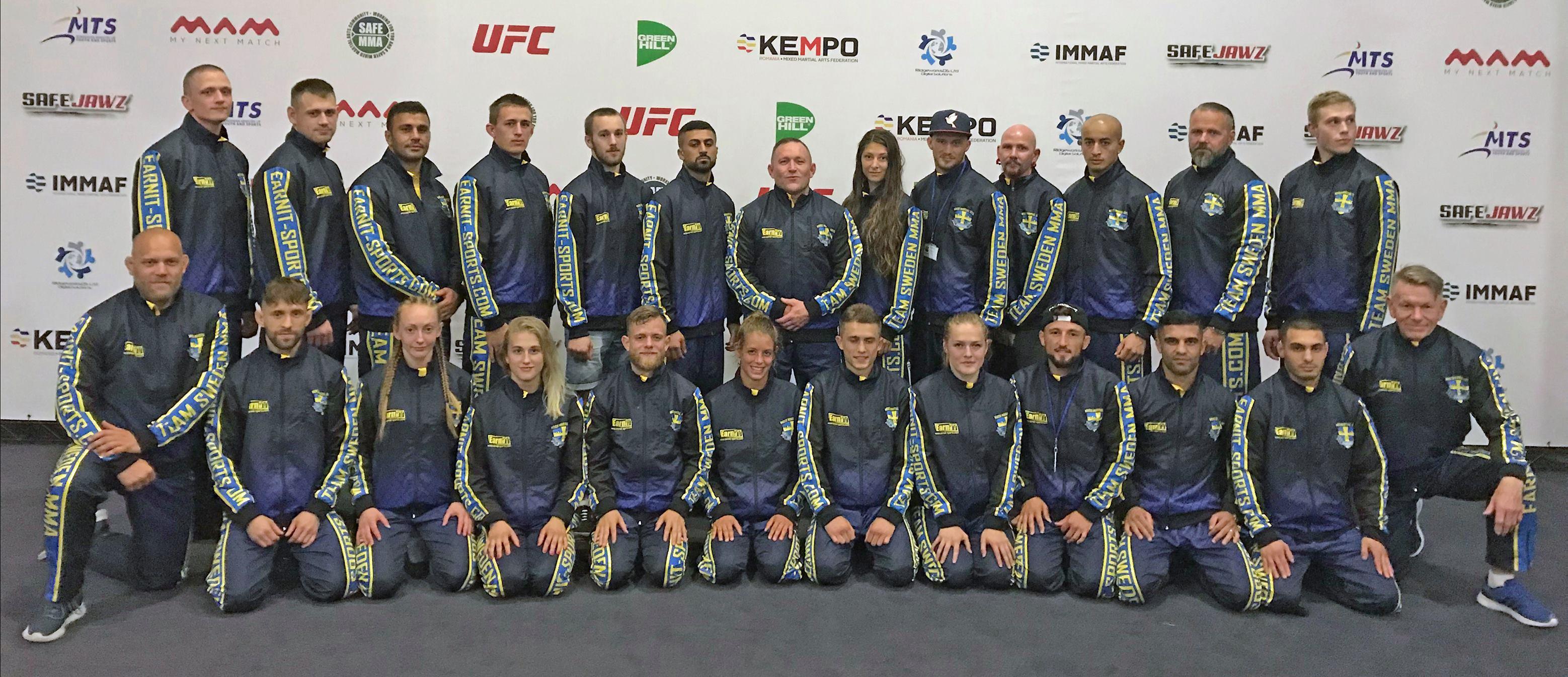 Visa ditt stöd för Svenska MMA-Landslaget och svensk MMA.