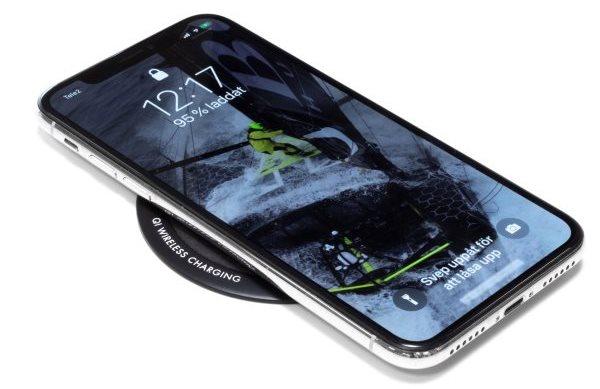 Airlectra trådlös mobilladdare för montering laddar iPhone X
