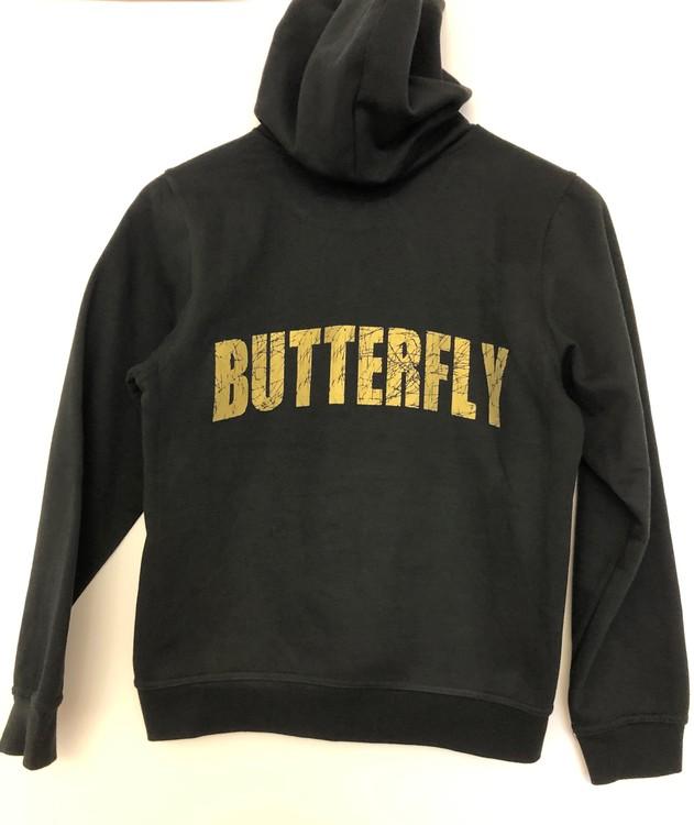 """Huvtröja med """"BUTTERFLY"""" på ryggen"""