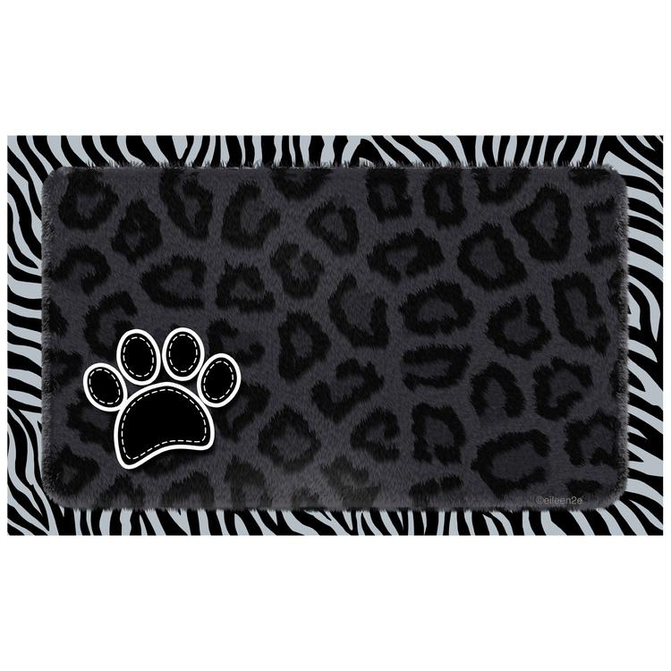 Underlägg Drymate - Leopard Svart