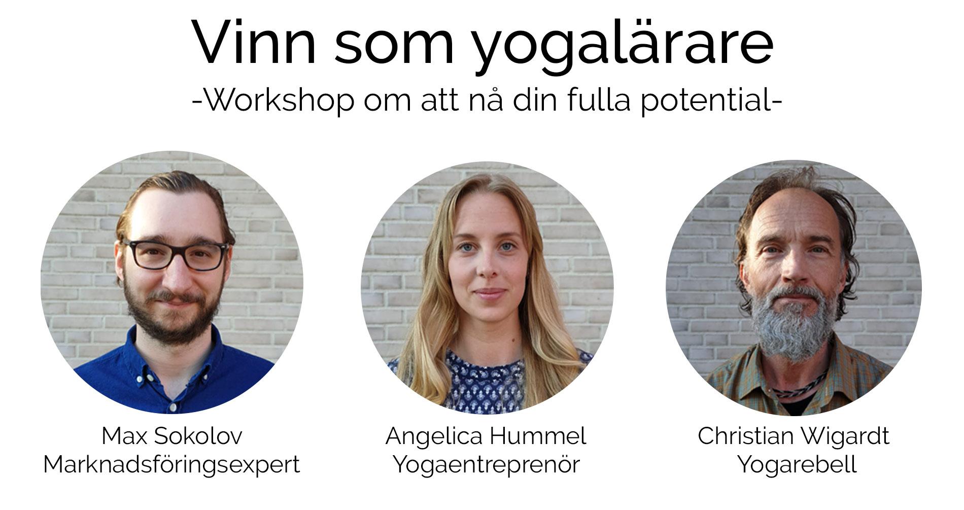 Vinn som yogalärare | Workshop om att nå din fulla potential