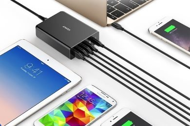Anker PowerPort plus 5 USBC PD laddar det mesta