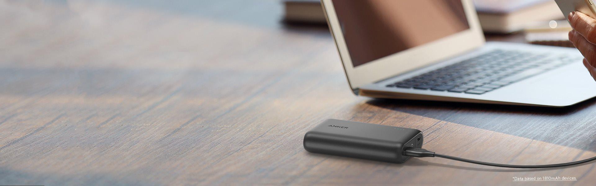 Anker mobilladdare, powerbanks och kablar