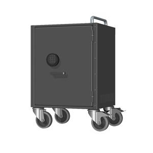 Ceka-Anchorpad extrastor datorskåp med vagntillsats