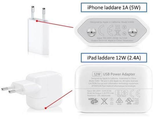 Ladda din iPhone 6 via iPad laddare + adaapter