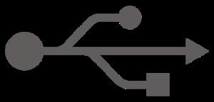 Symbolen för USB