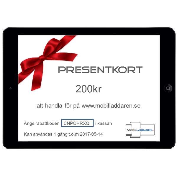 Skicka presentkort via mobil
