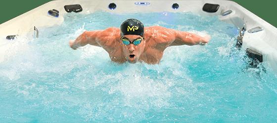 Swimspa från världsmästaren Michael Phelps