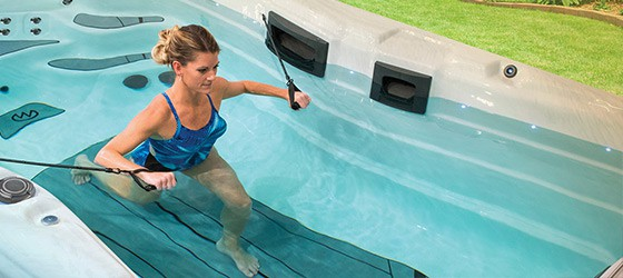 Träna och motionera med Swimspa